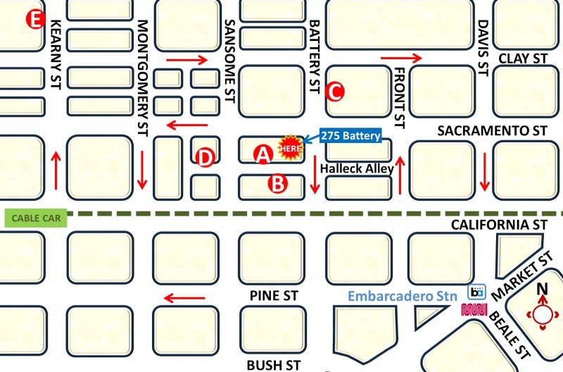 public parking bush street san francisco