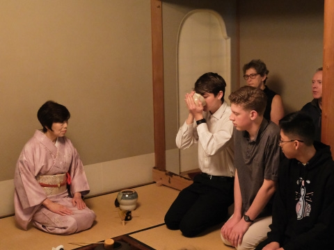 Japanese tea ceremony lessons